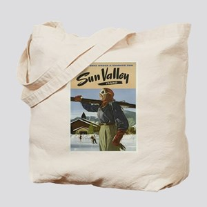 Vintage poster - Sun Valley Tote Bag